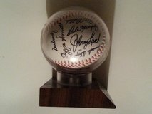 Autographed Baseball in Kankakee, Illinois