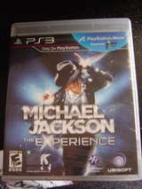 NEW Playstation 3 PS3 Michael Jackson the Experience game in Fort Riley, Kansas