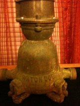 Early 1900's Watch Dog Water Meter in Clarksville, Tennessee